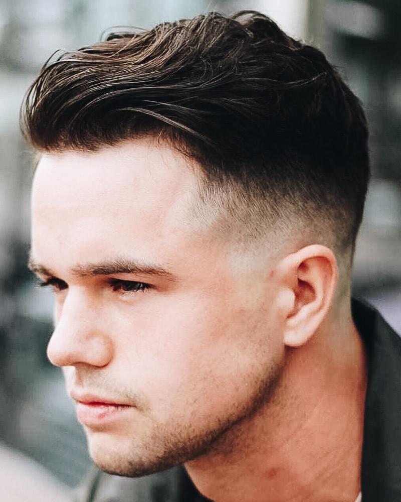 best short haircuts men modern quiff undercut sides - Luxe Digital