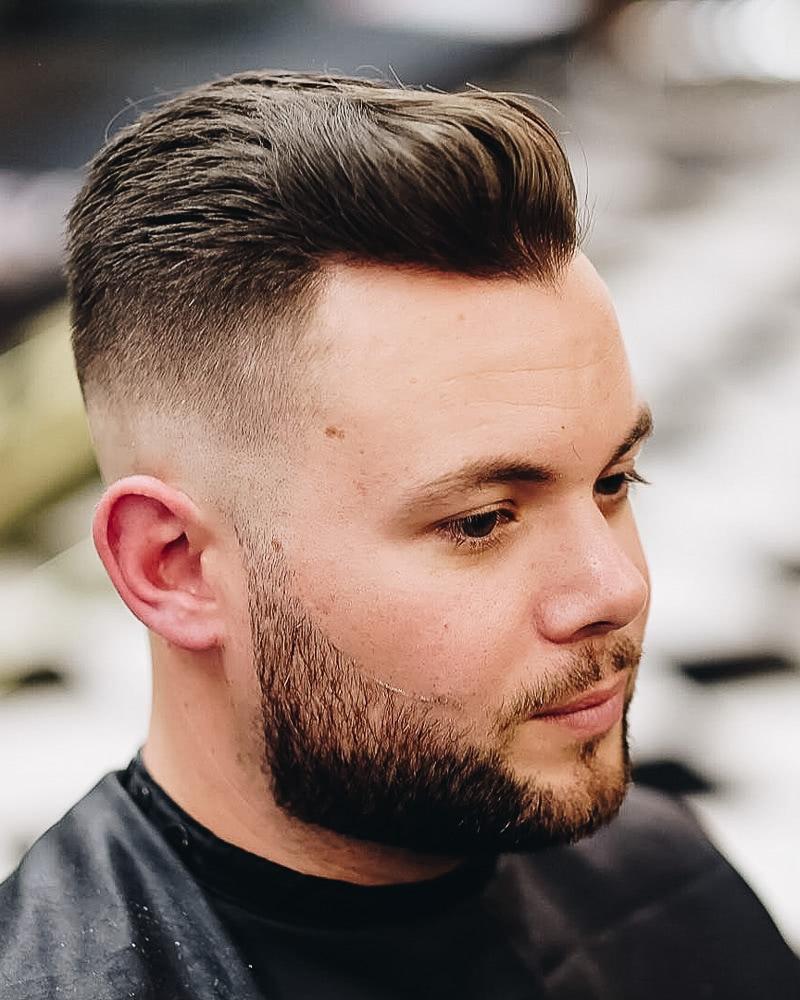 best short haircuts men slicked back undercut - Luxe Digital