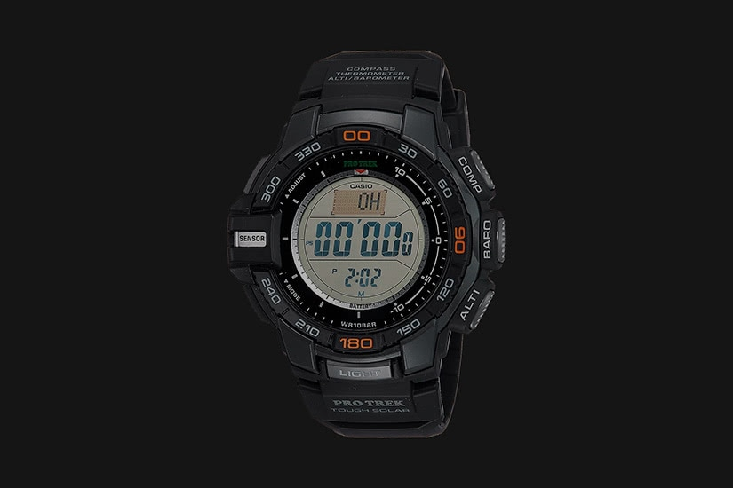 best tactical watches military casio pro trek - Luxe Digital