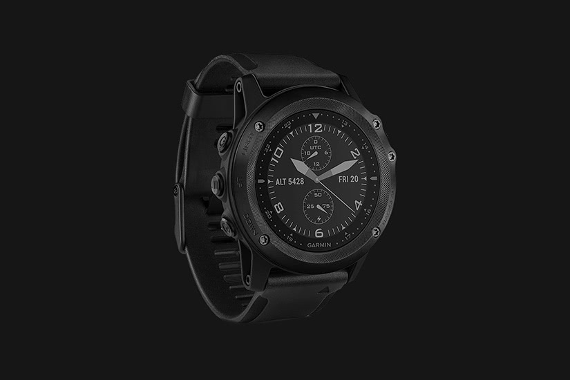 best tactical watches military garmin tactix bravo - Luxe Digital