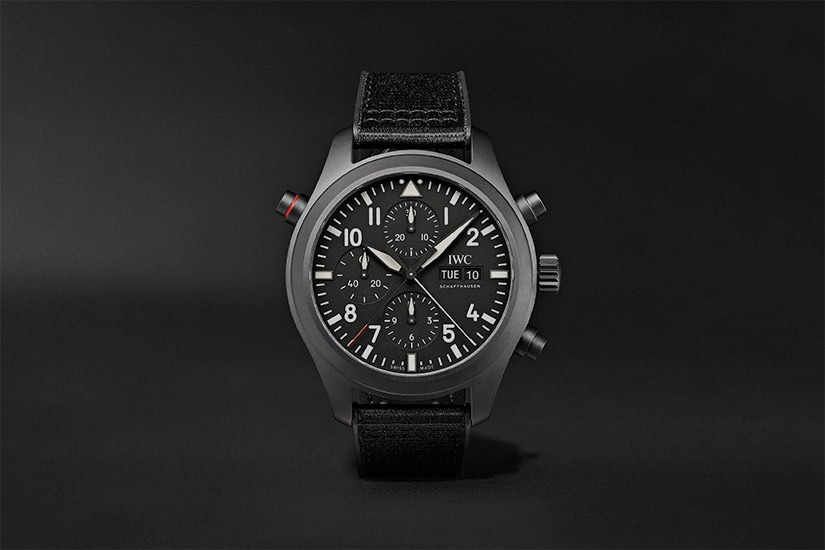 best tactical watches military IWC schaffhausen top gun automatic chronograph - Luxe Digital