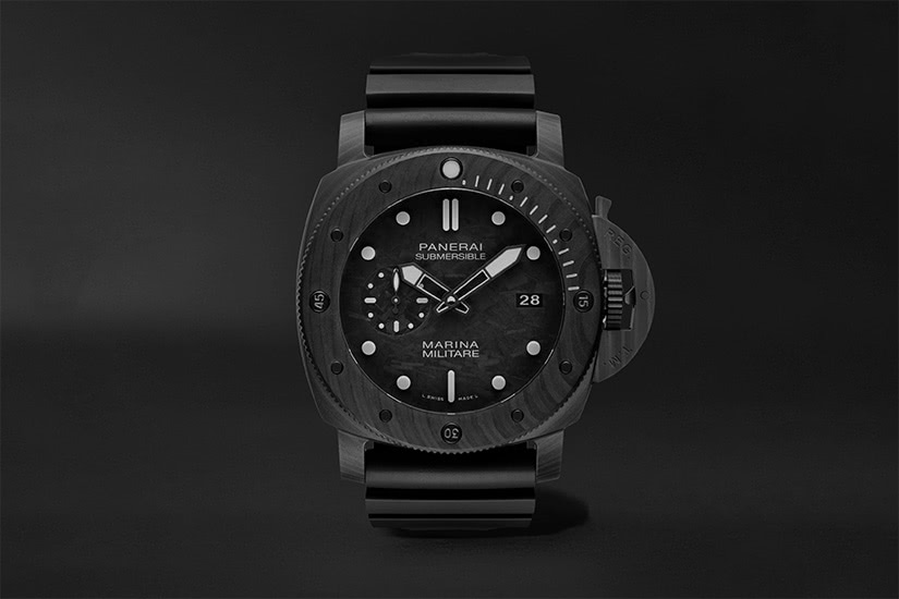 best tactical watches military panerai submersible marina militare - Luxe Digital
