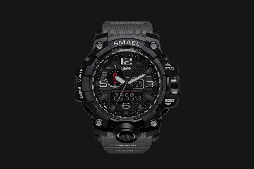 best tactical watches military SMAEL - Luxe Digital