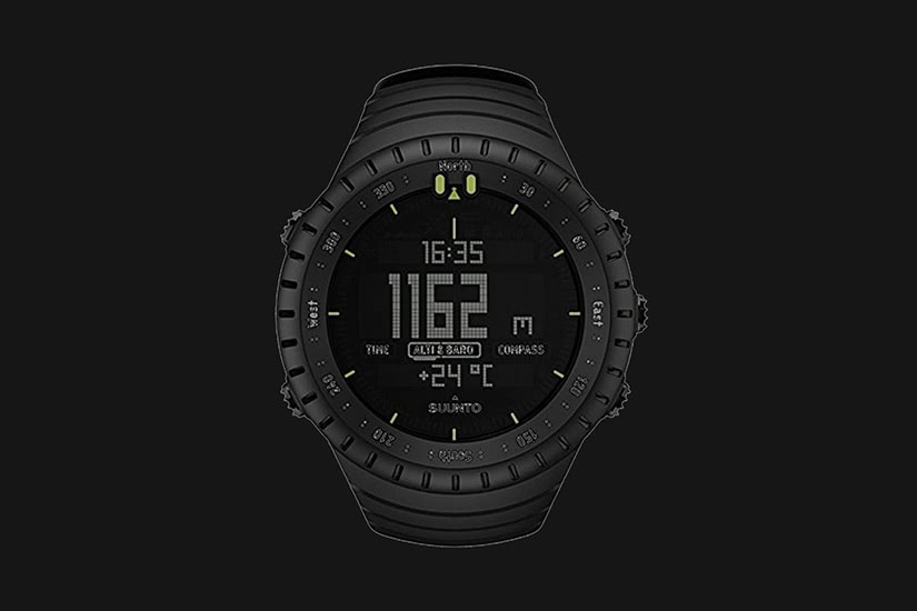 best tactical watches military suunto core - Luxe Digital