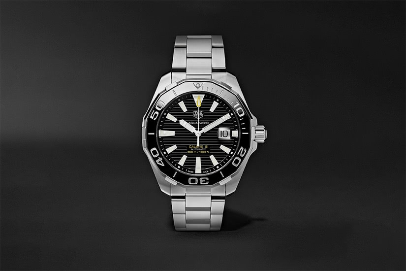 best tactical watches military tag heuer aquaracer calibre 5L - Luxe Digital