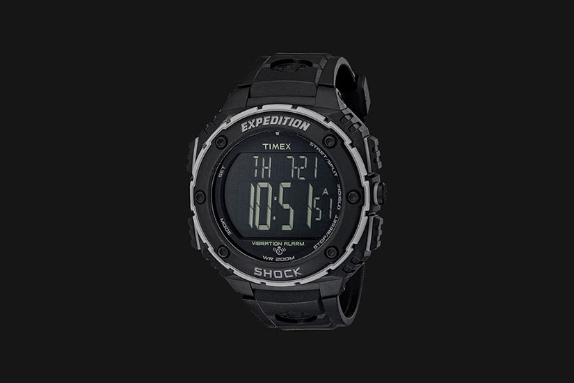 best tactical watches military timex expedition shock XL - Luxe Digital