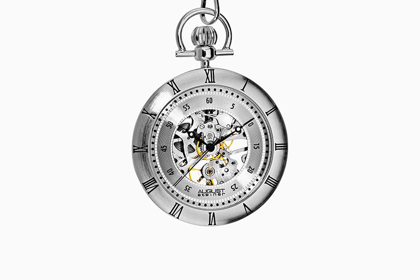 best pocket watch august steiner - Luxe Digital