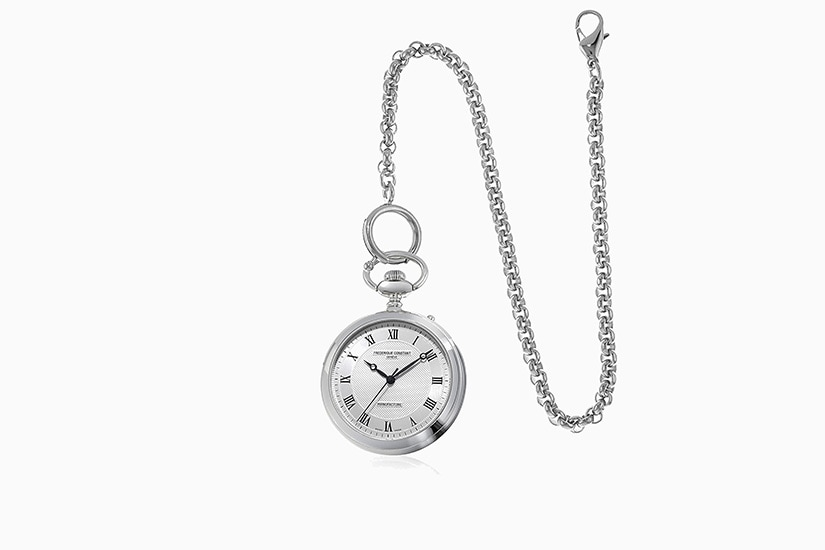 best pocket watch frederique constant - Luxe Digital