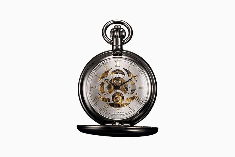 mejor reloj de bolsillo kronen sohne skeleton - Luxe Digital