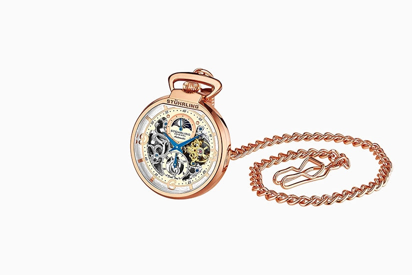 best pocket watch stuhrling complication - Luxe Digital