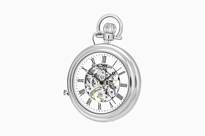 best pocket watch stuhrling - Luxe Digital