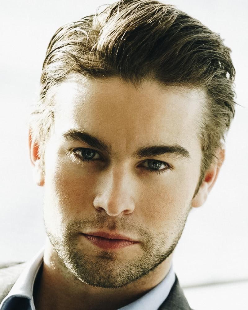 best medium length hairstyles men natural side-part - Luxe Digital