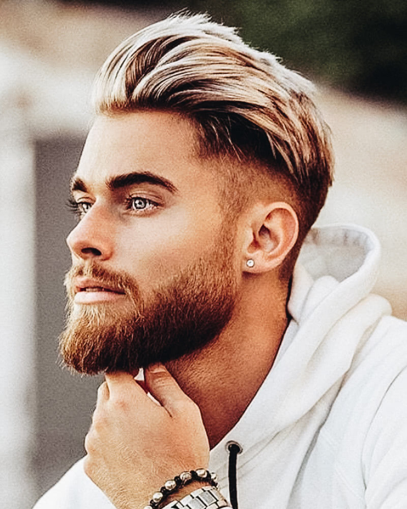 12 Best Medium-Length Haircuts For Men And How To Style Them