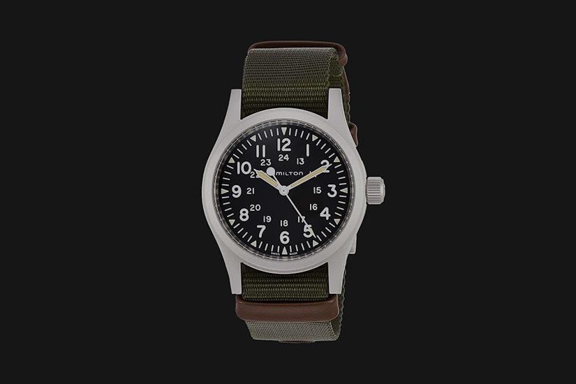 best field watch hamilton khaki - Luxe Digital
