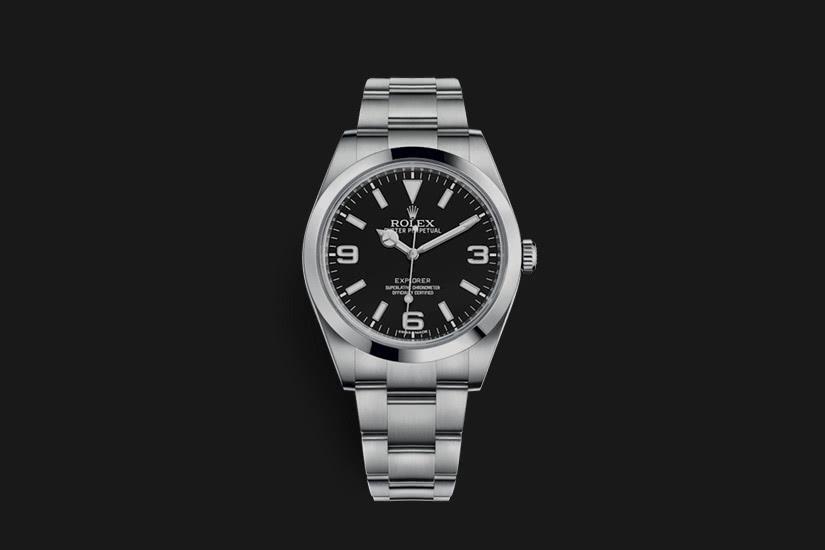 best field watch rolex explorer - Luxe Digital