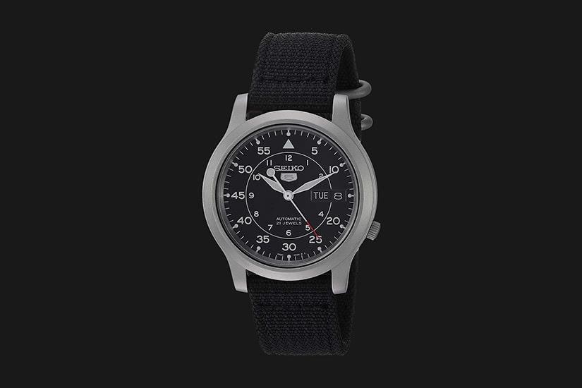 best field watch seiko 5 - Luxe Digital