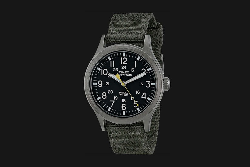 best field watch timex expedition scout - Luxe Digital
