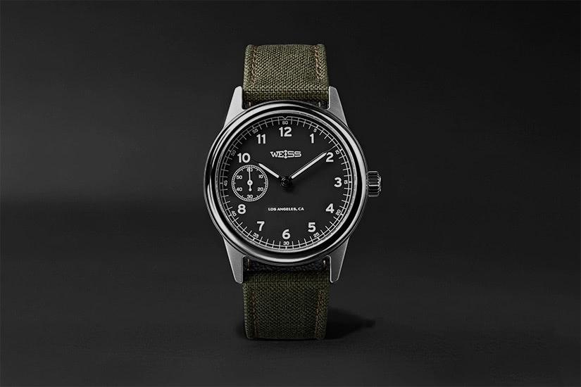 best field watch WEISS automatic issue - Luxe Digital