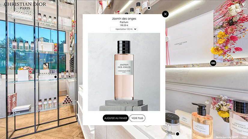 christian dior vr store luxury stay-at-home economy - Luxe Digital