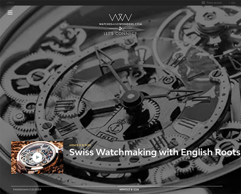 watches and wonders luxury stay-at-home economy - Luxe Digital