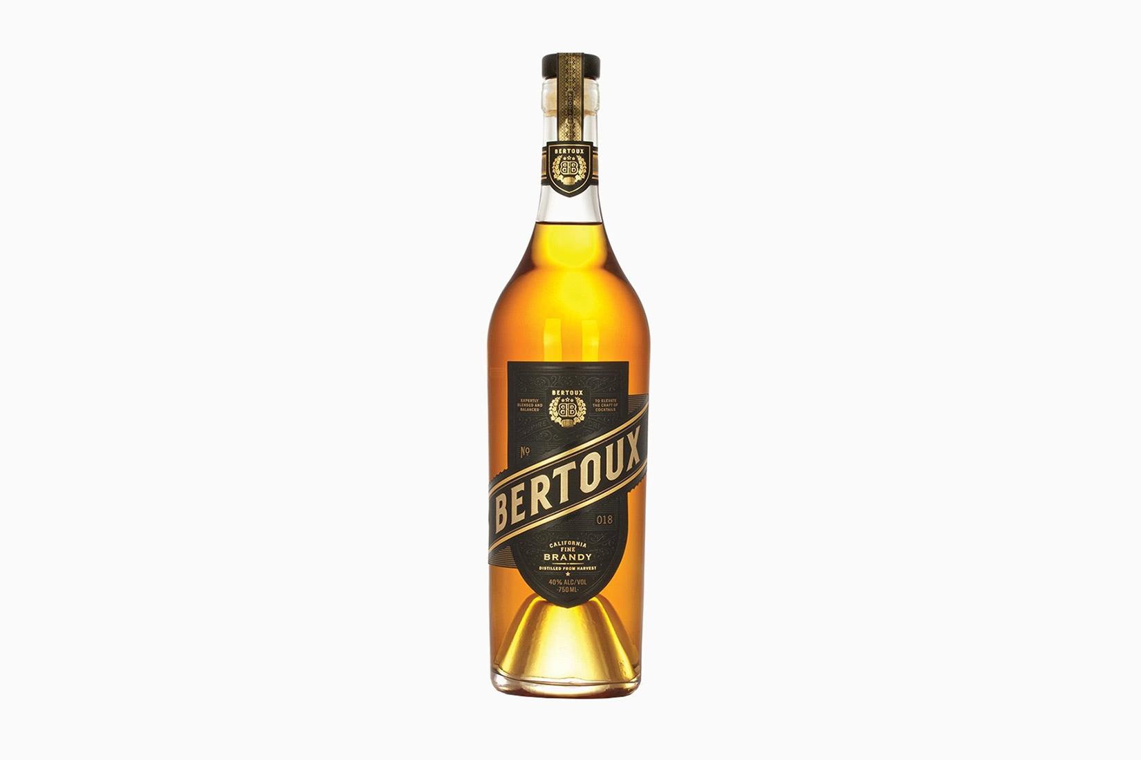 best brandy cognac brands bertoux - Luxe Digital