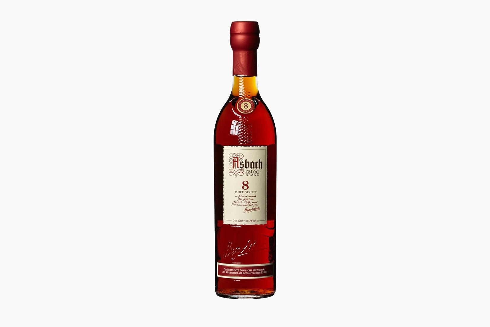 best brandy cognac brands asbach - Luxe Digital