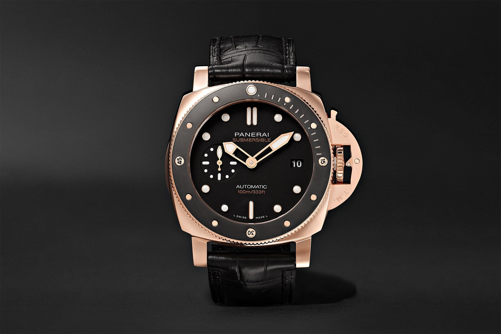 best dive watch panerai submersible automatic - Luxe Digital