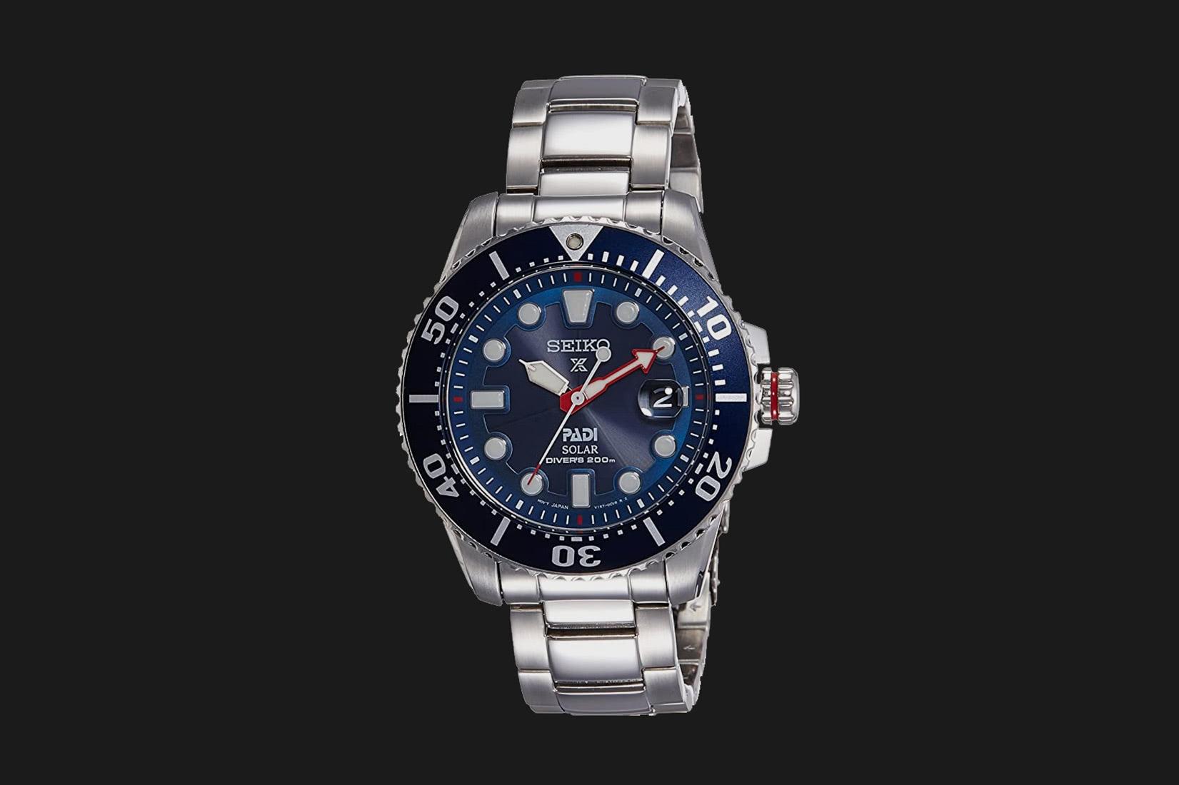 best dive watch seiko prospex padi solar - Luxe Digital