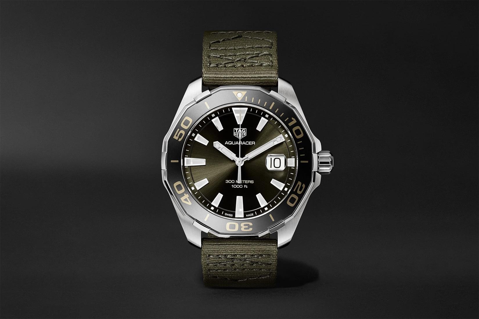 mejor reloj de buceo tag heuer aquaracer - Luxe Digital