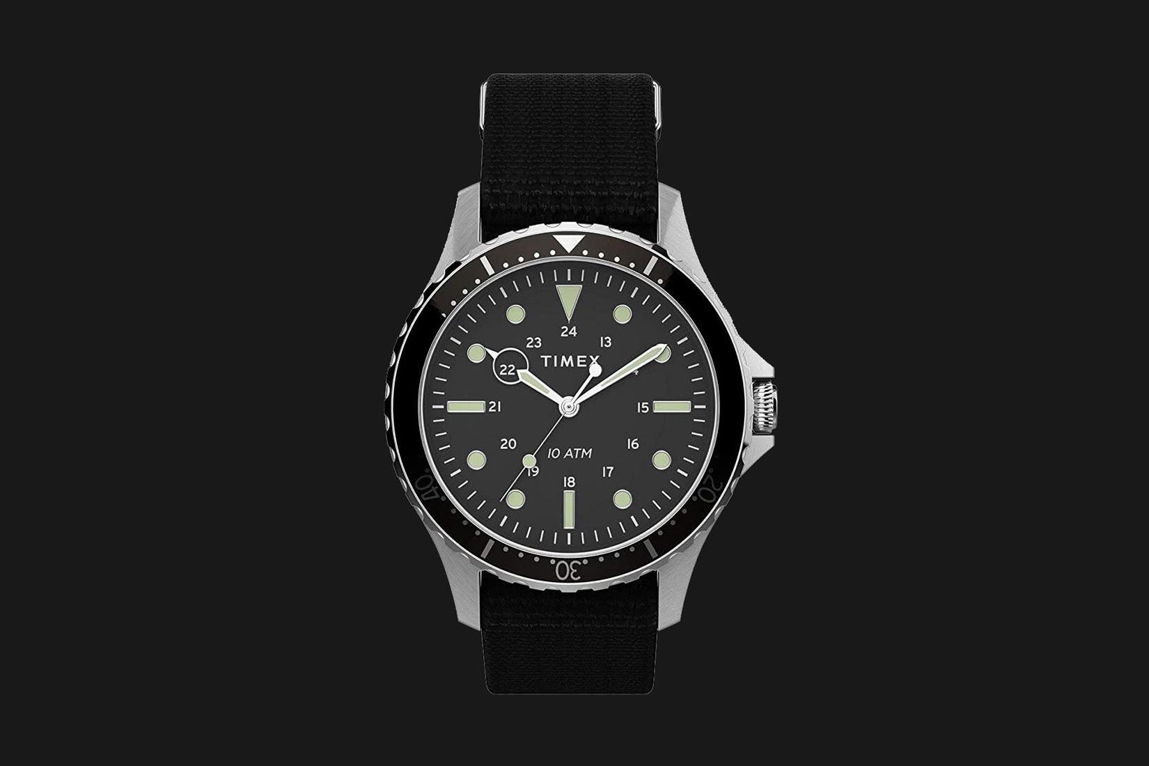 best dive watch timex navi XL - Luxe Digital