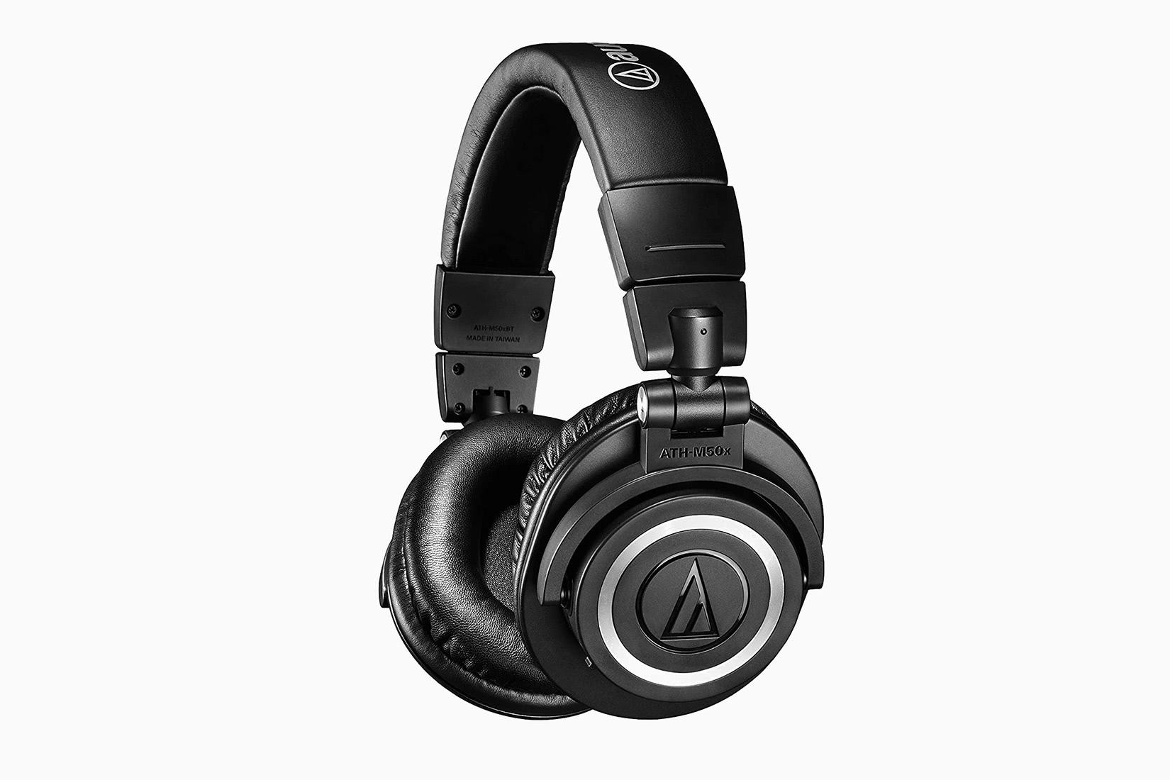best over-ear headphones audio technica ATH M50xBT review - Luxe Digital