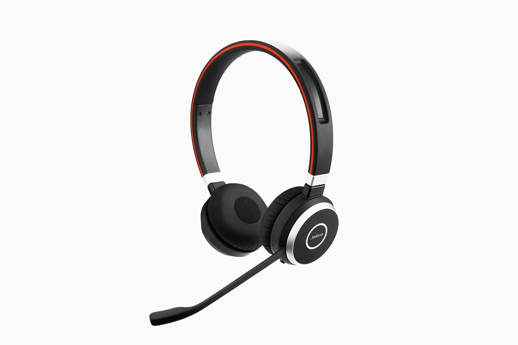 best over-ear headphones jabra evolve 65 review - Luxe Digital
