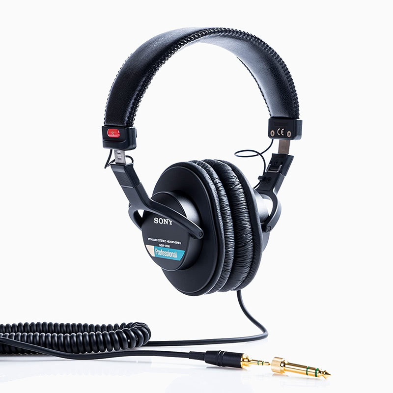 best over-ear headphones sony MDR7506 review - Luxe Digital