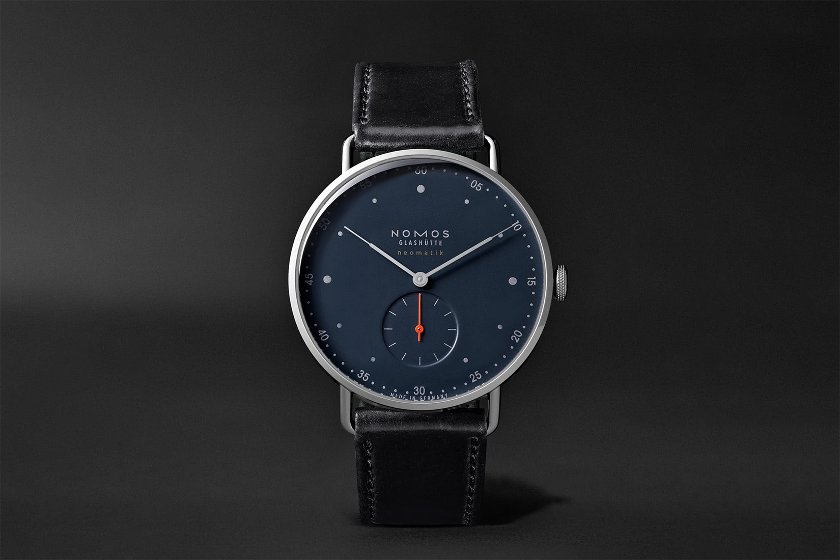 best dress watches nomos glashutte at work orion neomatik - Luxe Digital