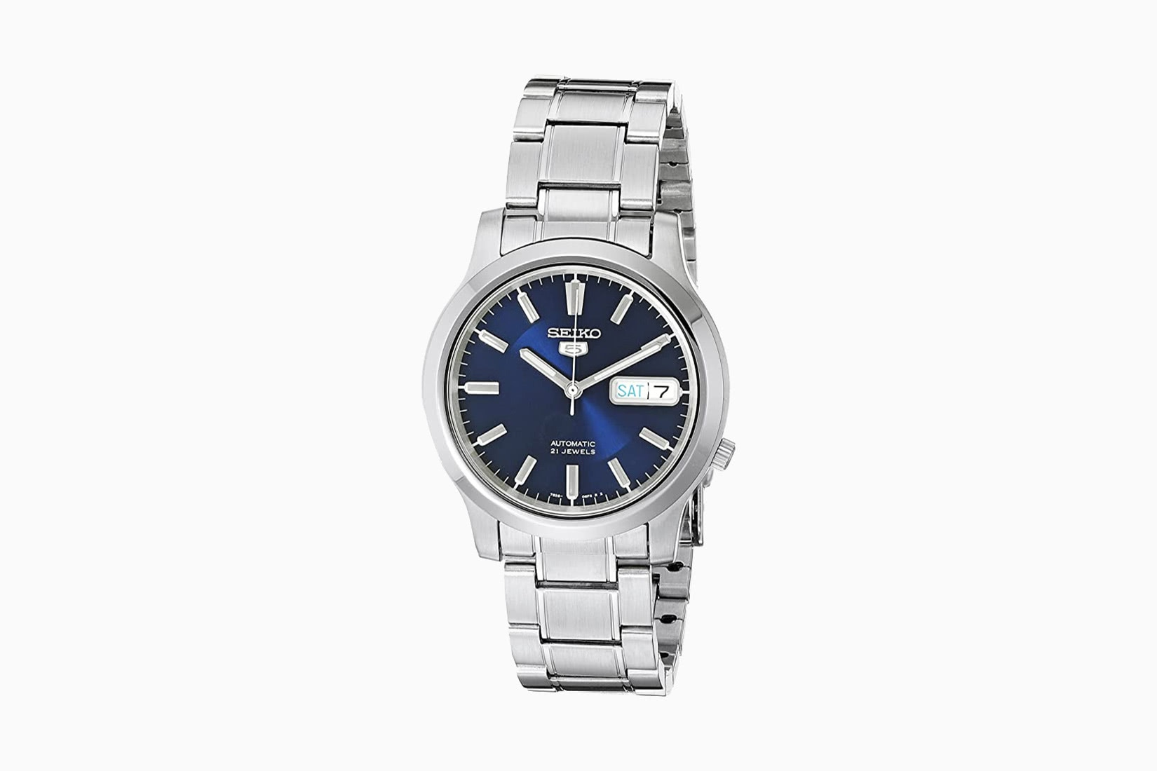 best dress watches seiko 5 SNK793 - Luxe Digital