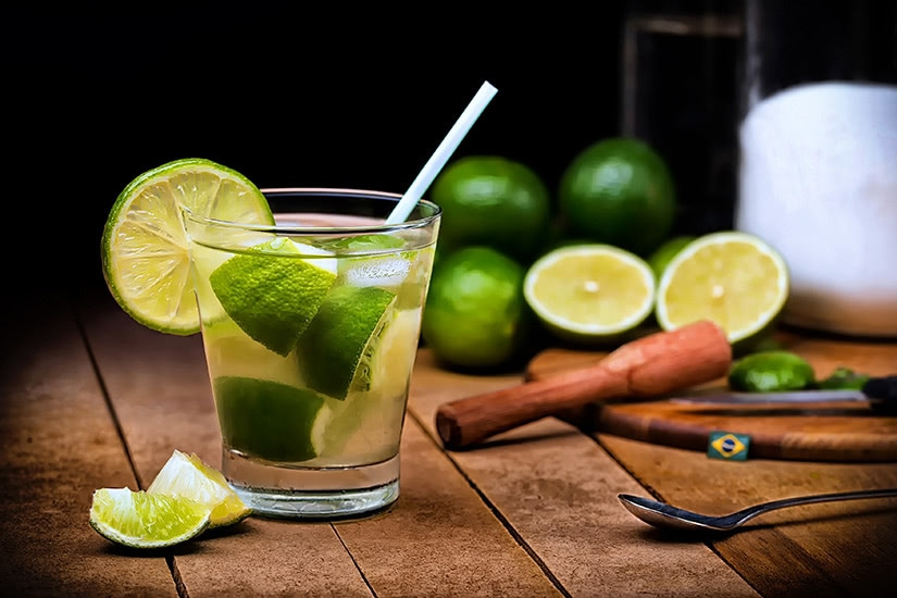 best cocktails recipe caipirinha - Luxe Digital