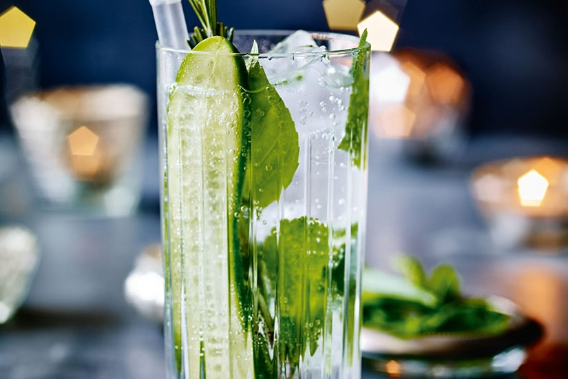 best cocktails recipe herb garden seltzer - Luxe Digital