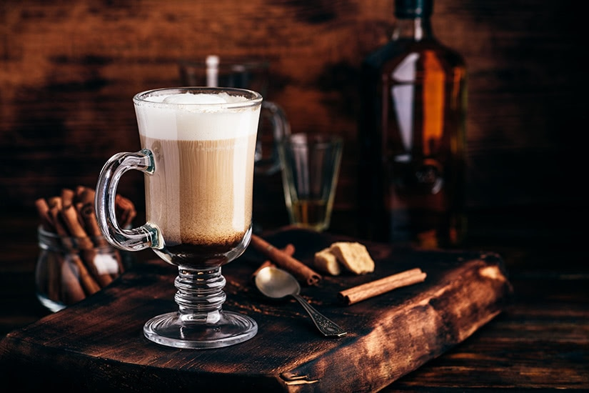 best cocktails recipe irish coffee - Luxe Digital