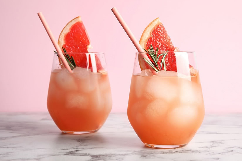 best cocktails recipe virgin paloma - Luxe Digital