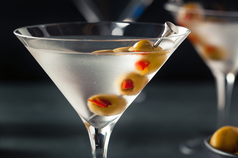 best cocktails recipe vodka martini - Luxe Digital