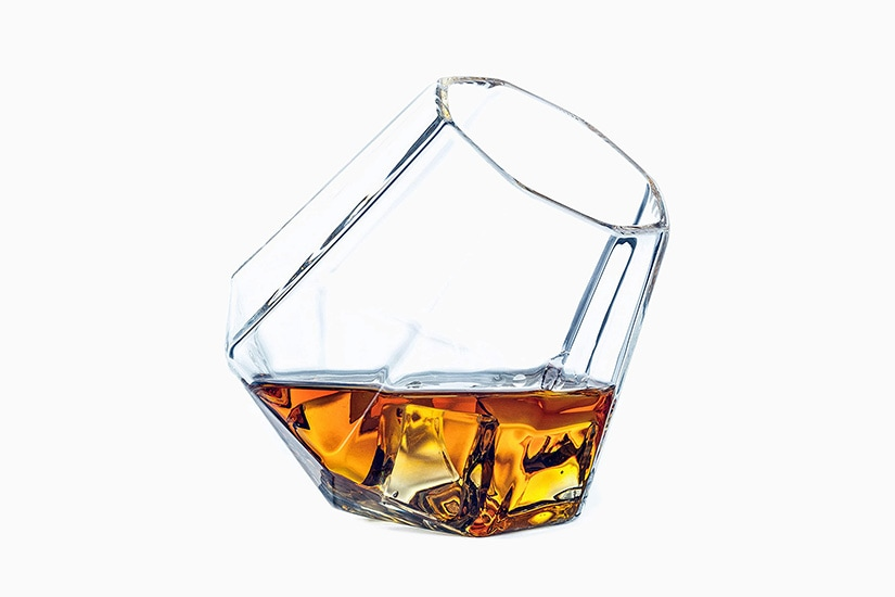 best whisky glass dragon glassware diamond - Luxe Digital