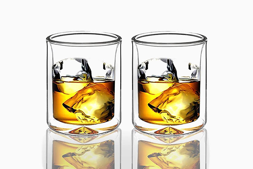 best whisky glass sun's tea double wall - Luxe Digital