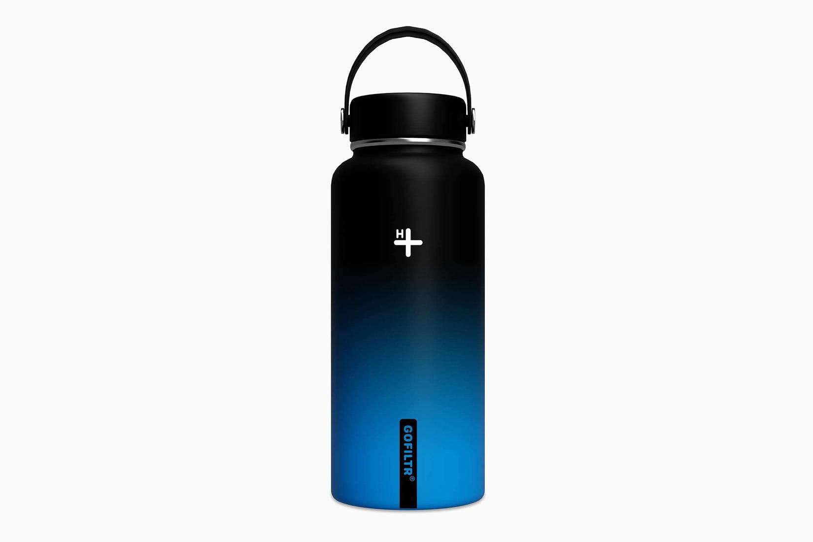 best water bottles ph raiser GOFILTR hydration kit - Luxe Digital