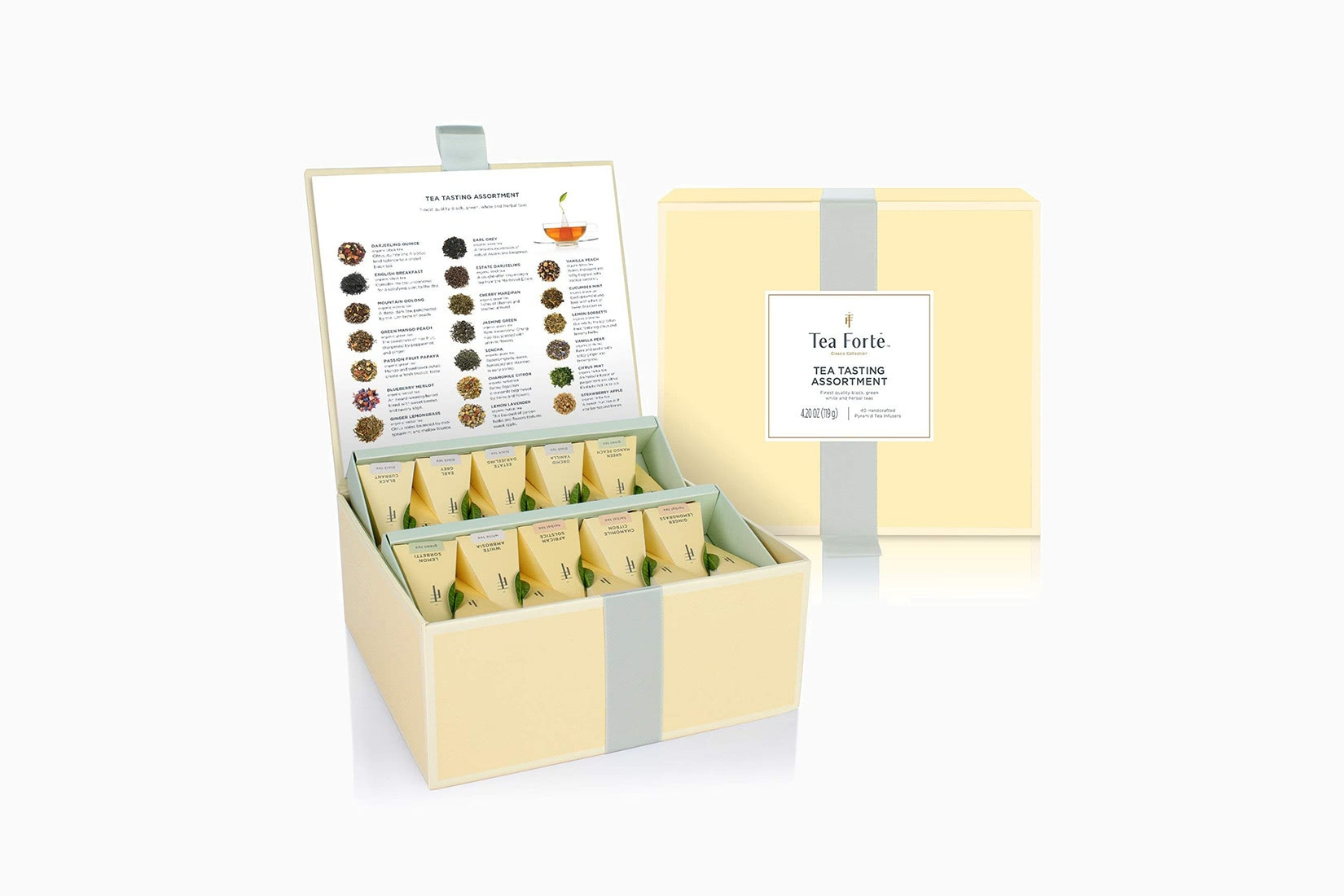 best tea brands forte organic assorted variety sampler - Luxe Digital