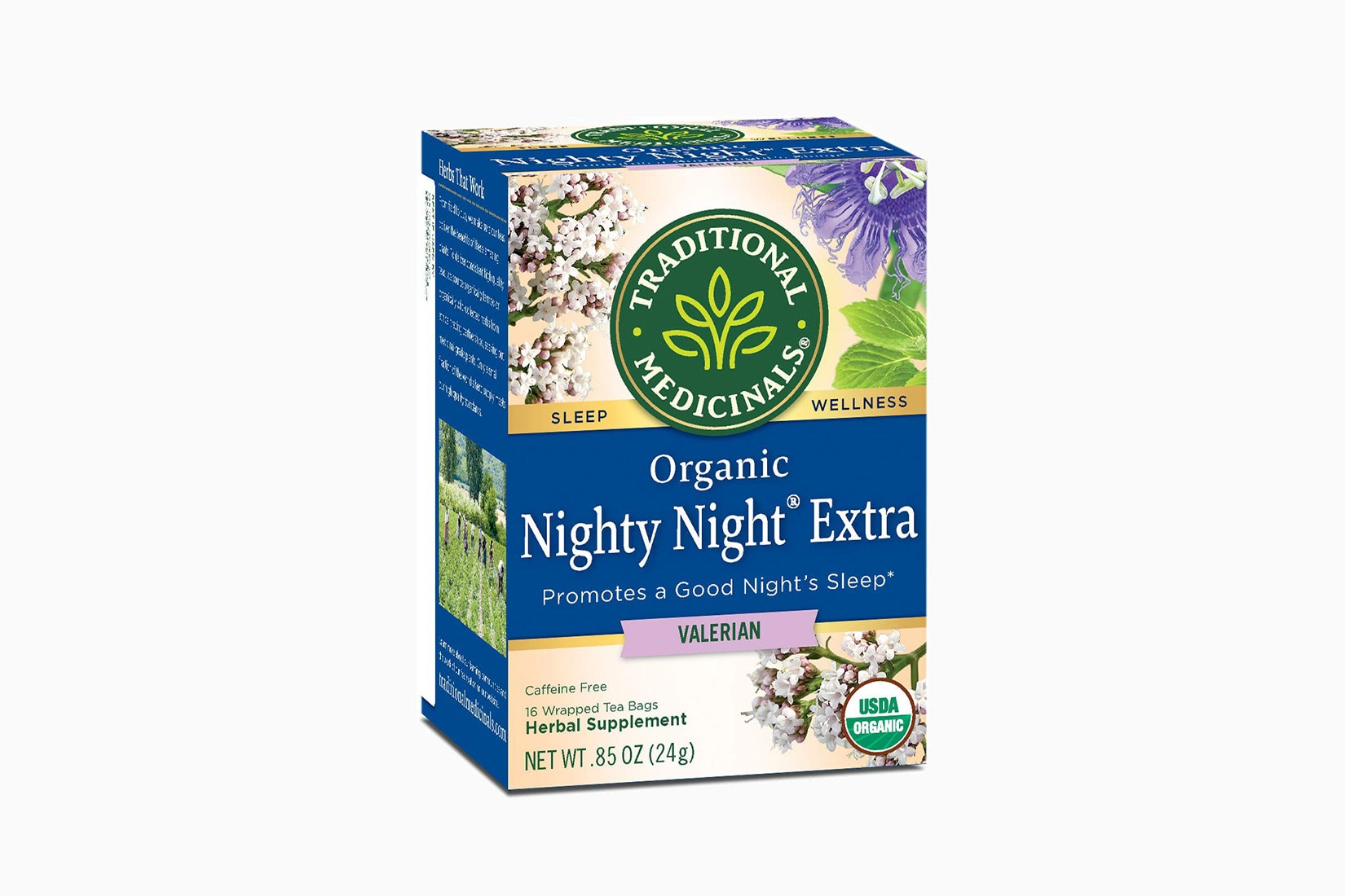 best tea brands night time traditional medicinals - Luxe Digital