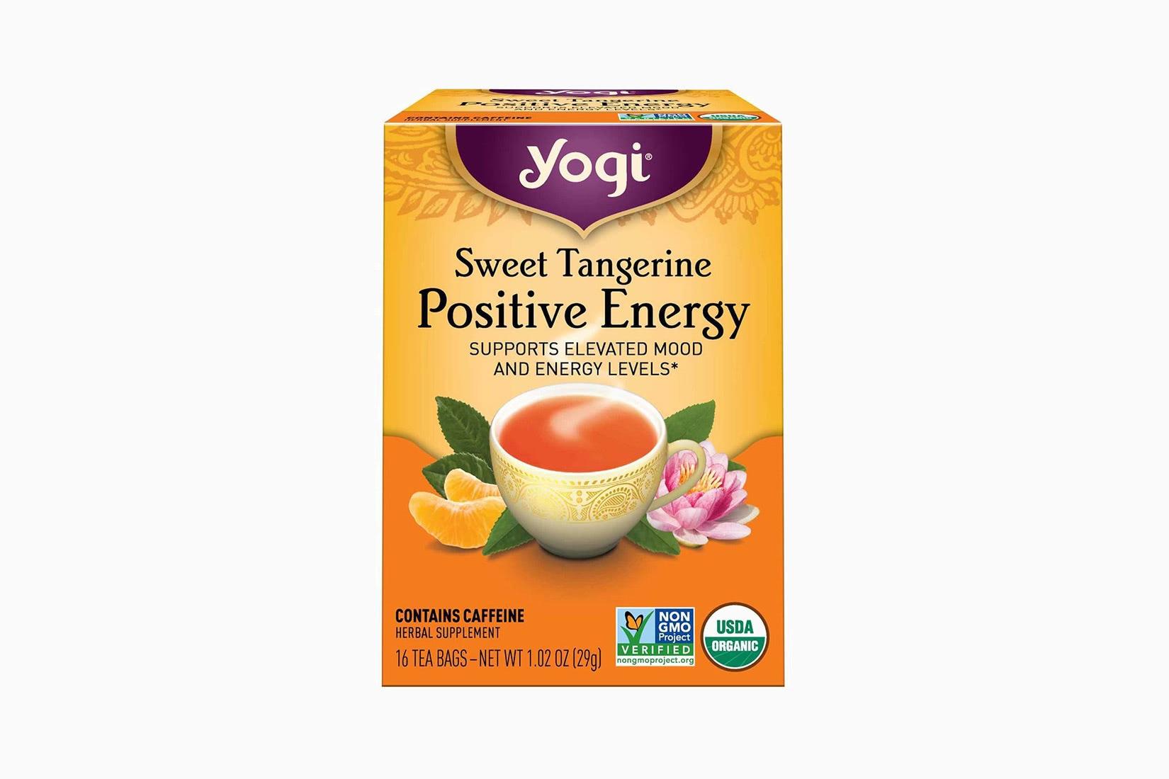 best tea brands yogi sweet tangerine - Luxe Digital