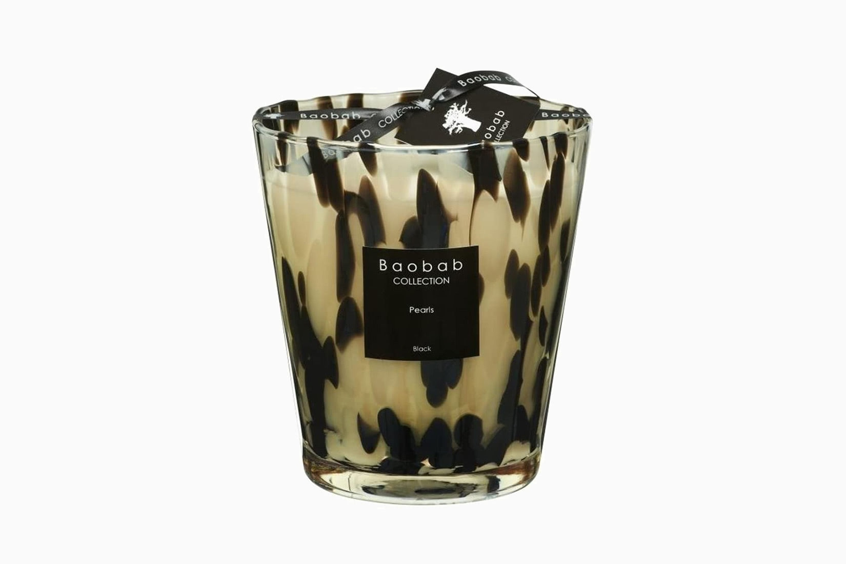 best scented candles baobab pearls black home fragrance - Luxe Digital