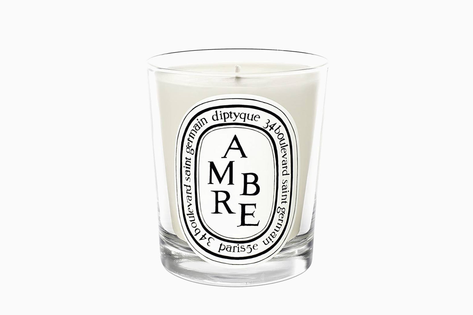 best scented candles diptyque ambre home fragrance - Luxe Digital