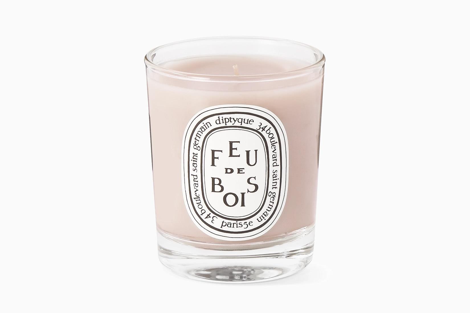 best scented candles diptyque feu de bois home fragrance - Luxe Digital