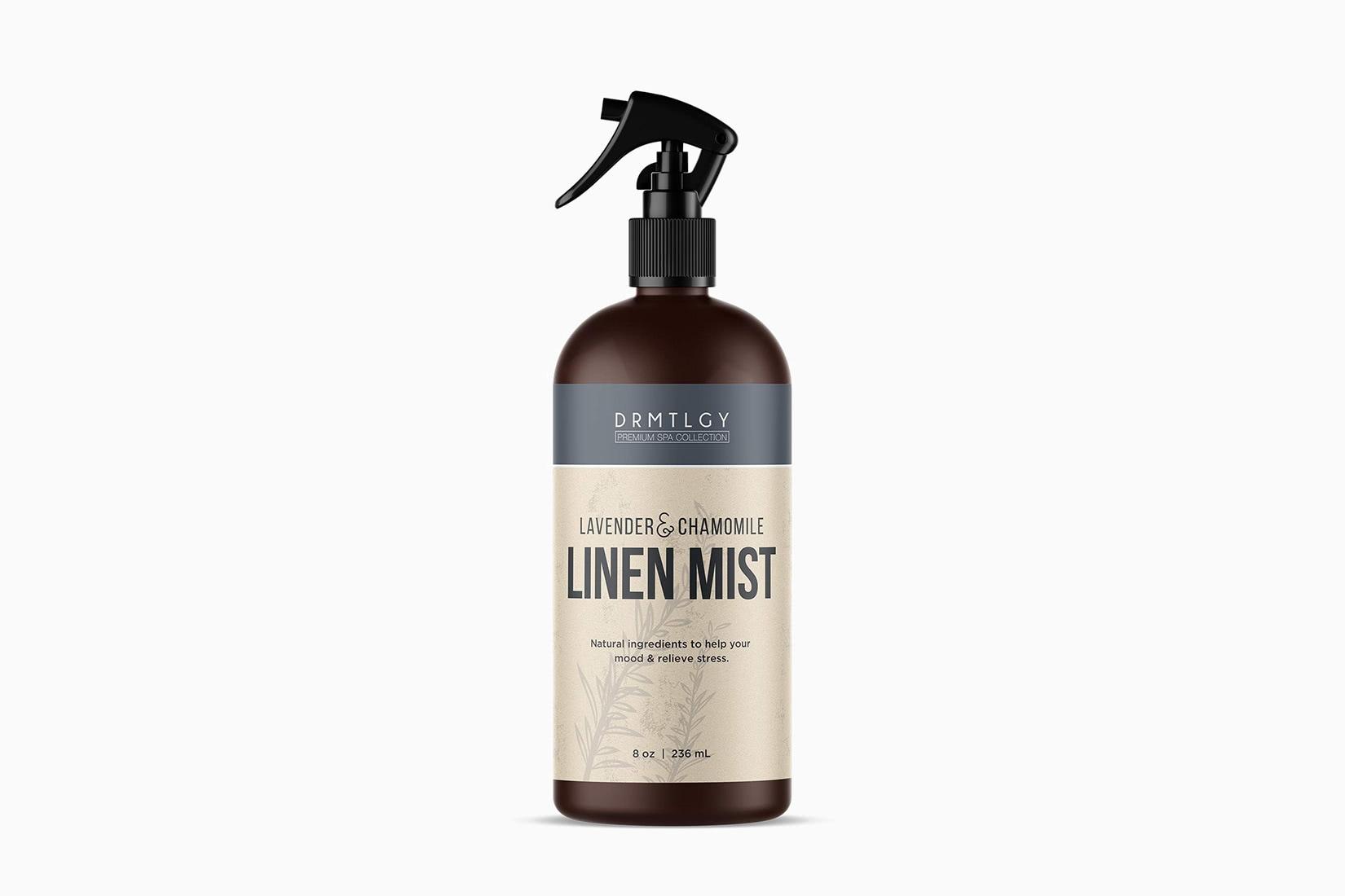 best spray DMTLGY linen mist home fragrance - Luxe Digital
